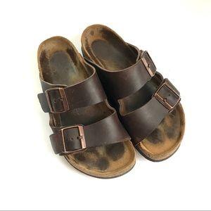 Birkenstock's women's sandals brown size 37